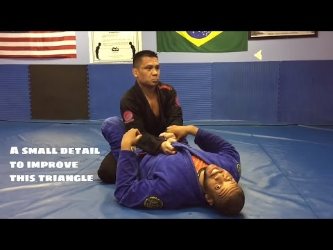 Some Fine Details for the Push-Pull Triangle from Closed Guard