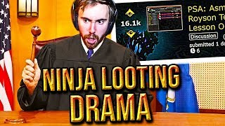 Asmongold Deals With Royson Ninja Looting DRAMA In Classic WoW (Quin69 VS Royson DUEL)