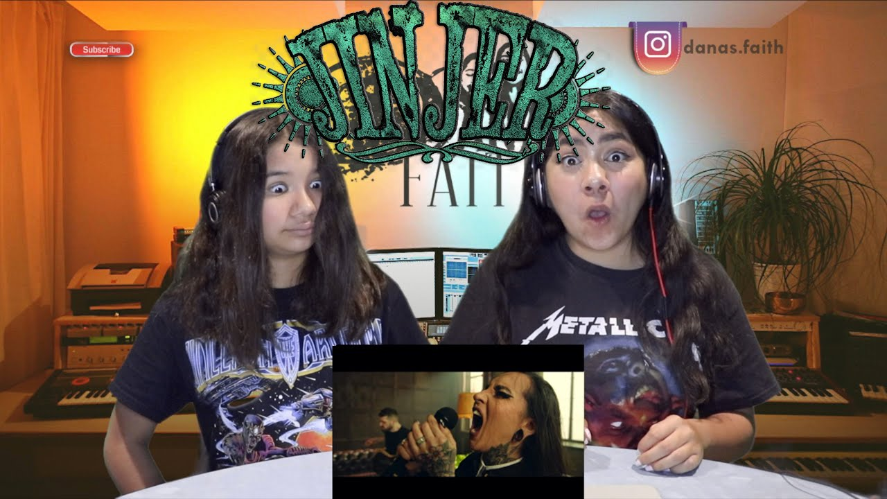 Two Girls React To JINJER - Vortex (Official Video)