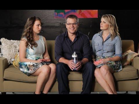 Matt Damon @ Let's Talk About Something More Interesting