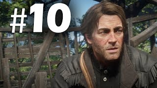 Red Dead Redemption 2 Part 10 - $5,000 Bounty - Gameplay Walkthrough (RDR2) PS4