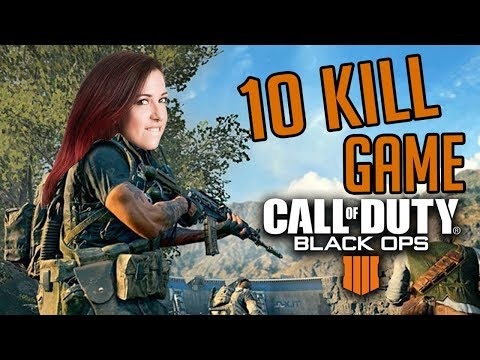 10 Kill Game! (Call of Duty: Blackout w/ Mae)