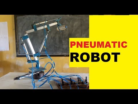 Pneumatic Robot Mechanical Engineering Project For Diploma And Degree