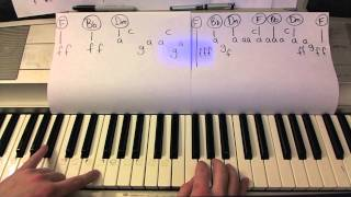 YOLO- Piano Lesson- The Lonely Island (ft Adam Levine & Kendrick Lamar) Todd Downing