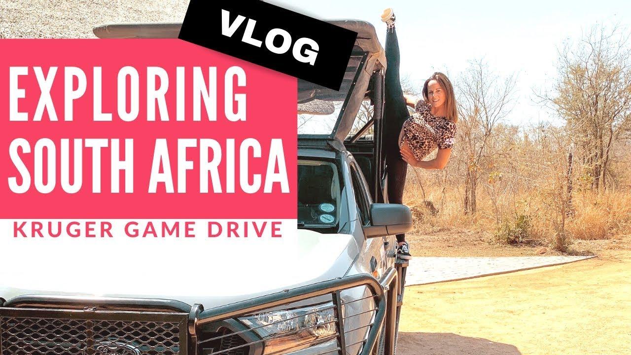 Chloe Bruce Travel Vlog   Kruger Park Game Drive!