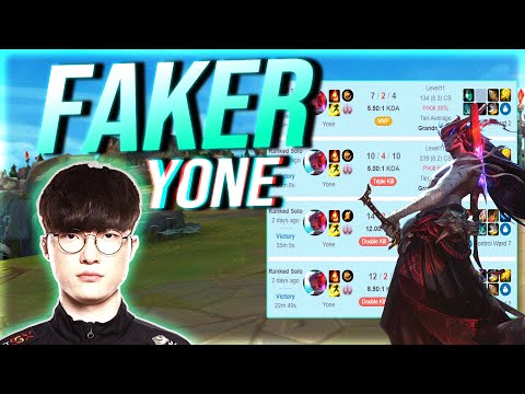 FAKER IS Spamming YONE! Ultimate Match-up vs World Champion DOINB