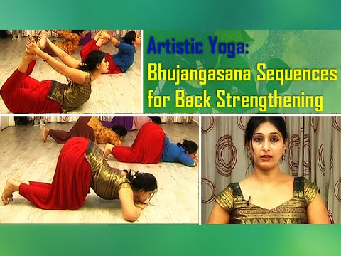 Bhujangasana Sequences for Back Pain Relief and Back Strengthening