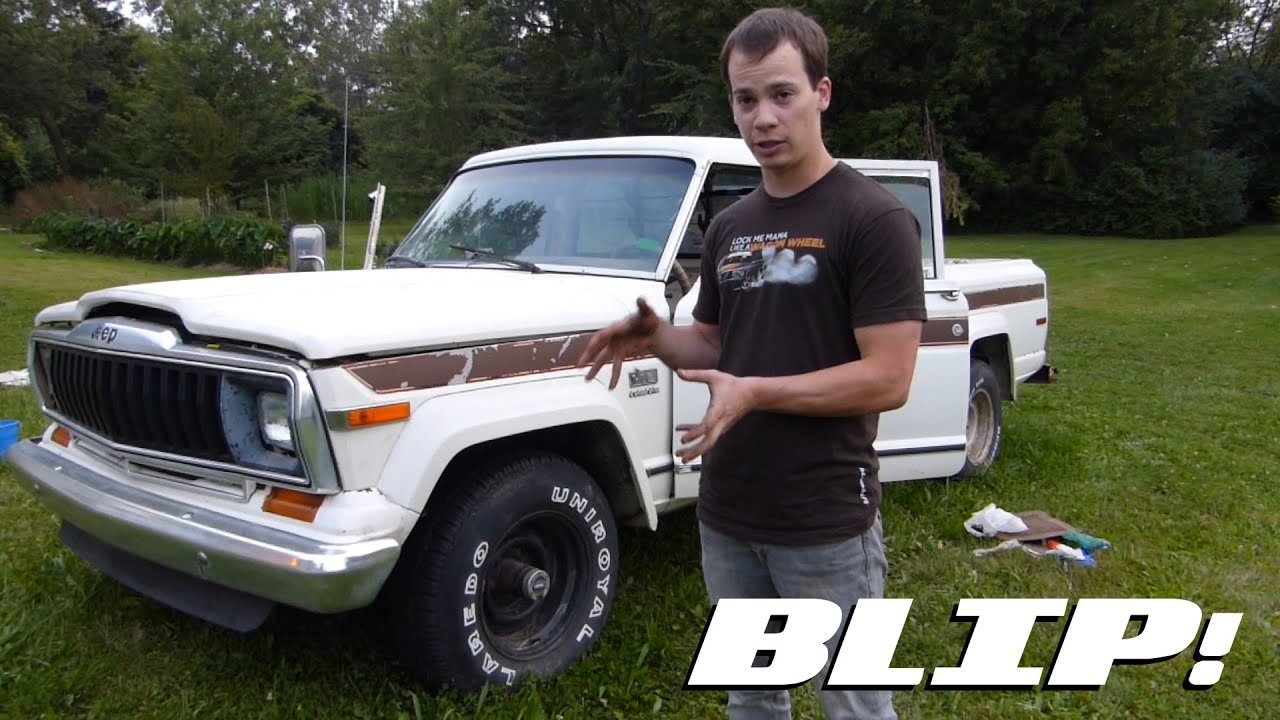 watch us turn a wrench on our clunky old jeep j10 [ 1280 x 720 Pixel ]