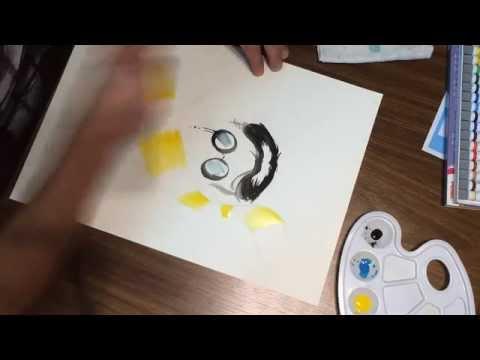 Daniel Art Design :: Speed Painting Harry Potter (Aquarela/Minimalismo Style)
