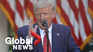 Trump says he signed executive order ending preferential treatment of Hong Kong | FULL