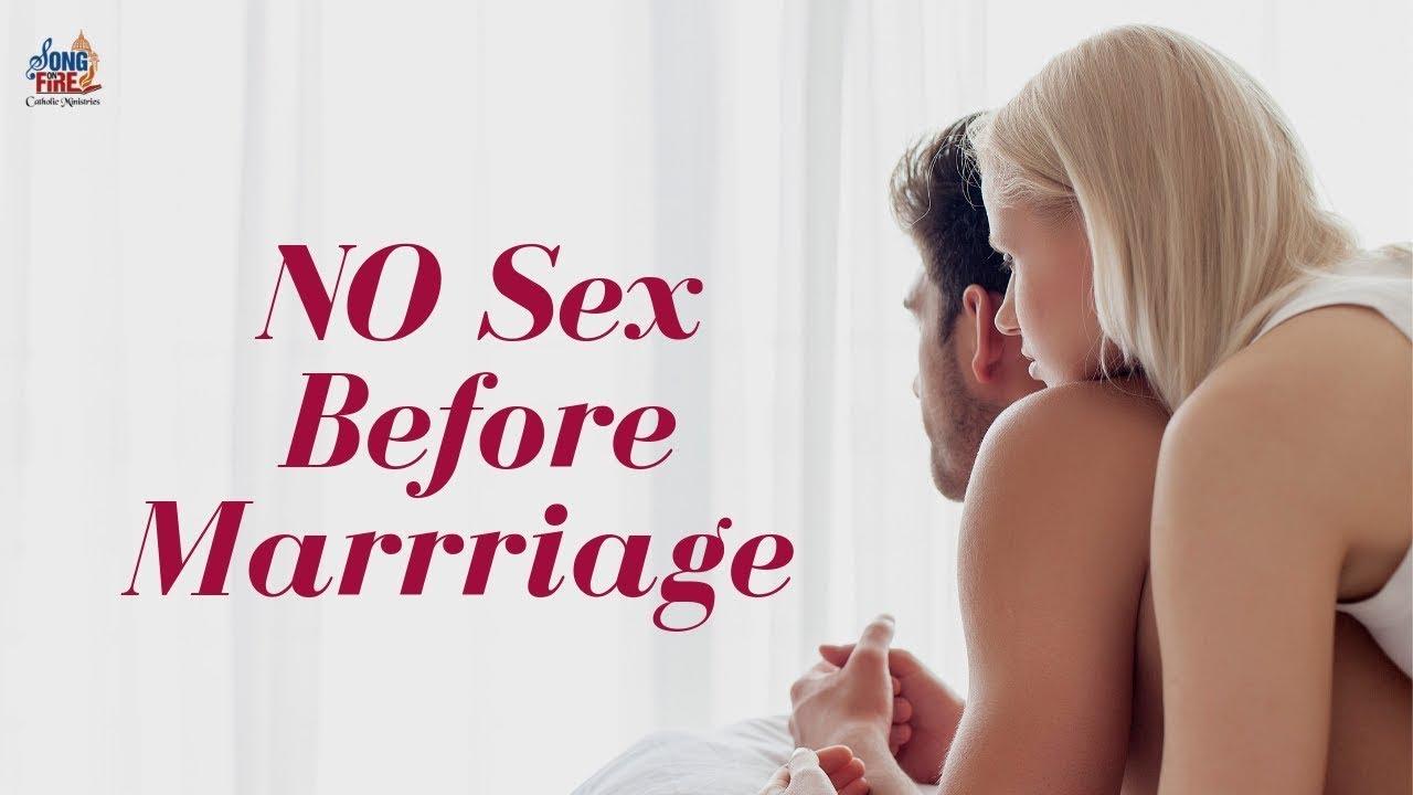 Catholic sex before marriage