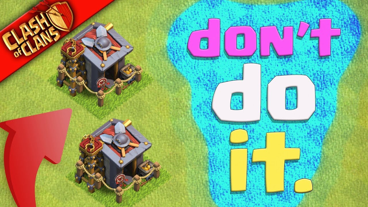 i make very dumb decisions in clash of clans