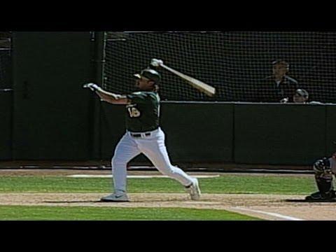 NYY@OAK: Giambi hits a walk-off, two-run homer