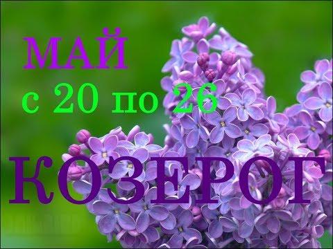 КОЗЕРОГ. ГОРОСКОП на НЕДЕЛЮ с 20 по 26 МАЯ 2019 год.
