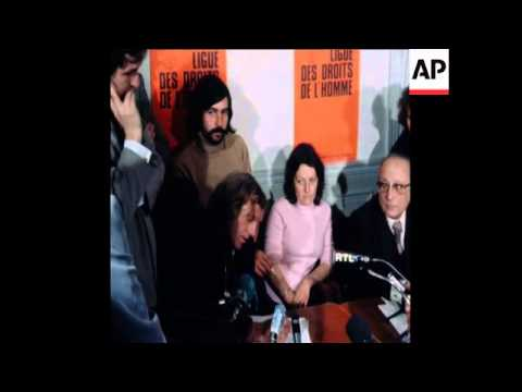 SYND 28 12 77 POLISARIO HOSTAGES INTERVIEWED IN PARIS