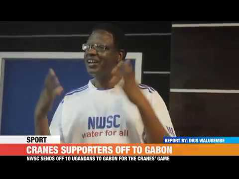 #PMLIVE #Sport: CRANES SUPPORTERS OFF TO GABON