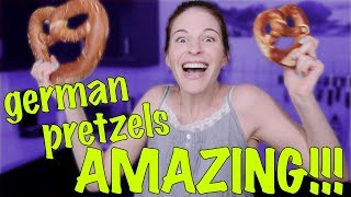 GERMAN PRETZELS ARE AMAZING!!!!