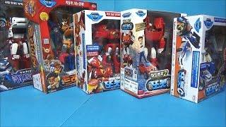 또봇 5개 오픈박스 쿼트란 트라이탄 C R Z 장난감 unboxing 5 Tobot robot car toys