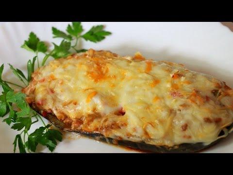 Рецепт Ну, оОчень вкусные - Фаршированные Баклажаны запеченные в духовке без регистрации