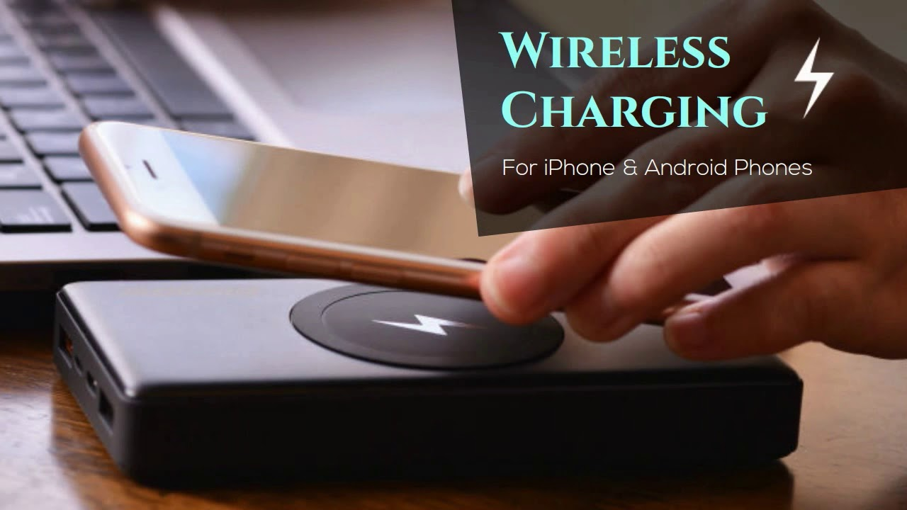 Energizer® Wireless Charging Power Bank Type-C Fast Charging for iPhone 8,  Plus, X (QE10000CQ)