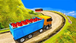 Indian Truck Spooky Stunt : Cargo Truck Driver   Android Gameplay screenshot 4