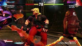 mossshadow battle lounge rage quit Street Fighter V