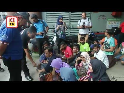 340 warga asing ditahan di Pasar Borong KL