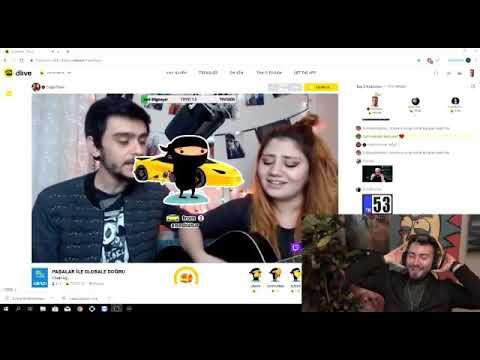 Enes Batur kendi şarkısını dinliyor dlive.tv/CagoPasa  (gel hadi gel hadi gel )