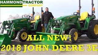 NEW 2018 John Deere 3E Series