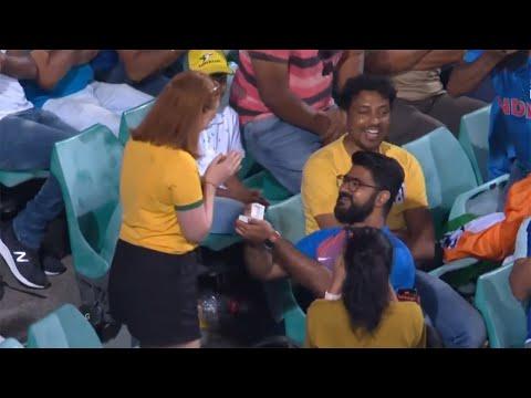 A proposal to unite Australia, India in SCG stands | Dettol ODI Series 2020