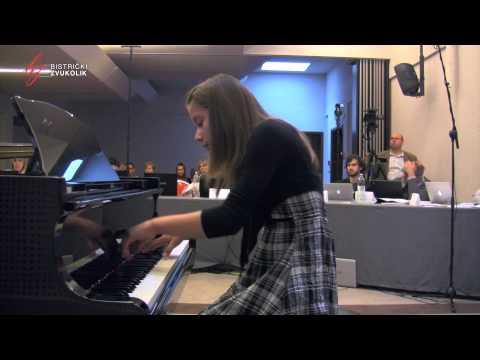 Dora Pejačević: Ljubica op. 19, br. 2 - Petra Podhraški, klavir / Bistrički ZVUKOLIK 2014.