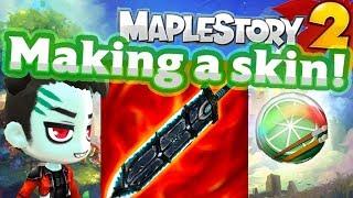 Maplestory 2 Custom Weapon