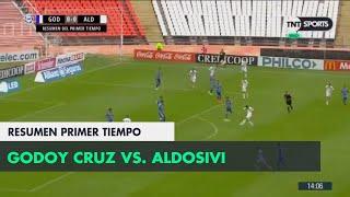 Resumen Primer Tiempo: Godoy Cruz vs Aldosivi | Fecha 9 - Superliga Argentina 2018/2019