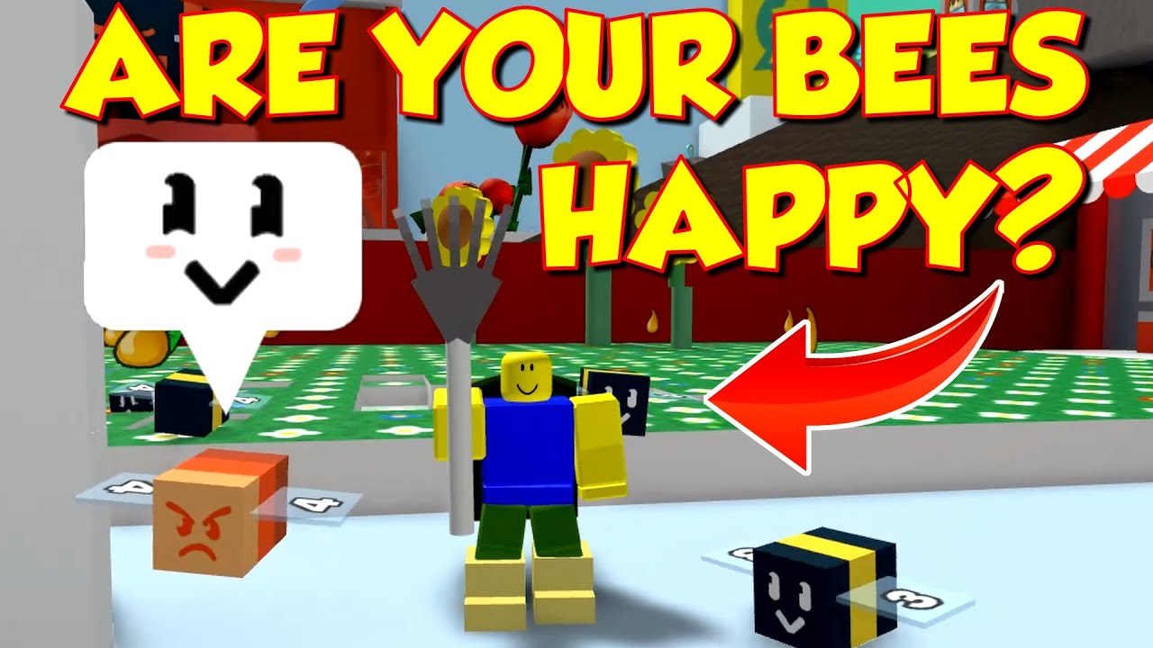 James Tips Roblox Bee Swarm Are Your Bees Happy Bee Swarm Simulator Leveling Hack Youtube