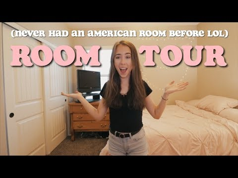 AMERICAN ROOM TOUR // ROOM MAKEOVER