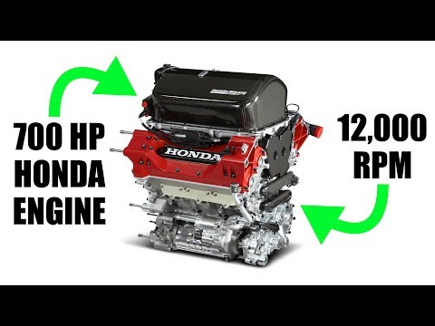 How Honda's 2.2L Engine Makes Over 700 Horsepower