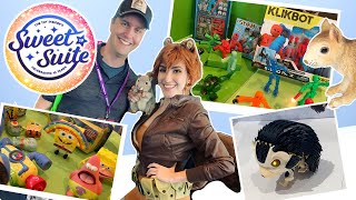Toy Insider's Sweet Suite 2019 Show NYC Spongebob Roblox Klikbot and More!