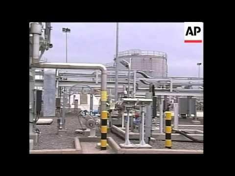 Georgia,Turkey, Azerbaijan presidents open Caspian pipeline