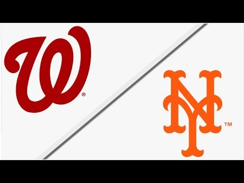Washington Nationals vs New York Mets | Full Game Highlights | 4/18/18