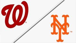 Washington Nationals vs New York Mets | Full Game Highlights | 4/18/18