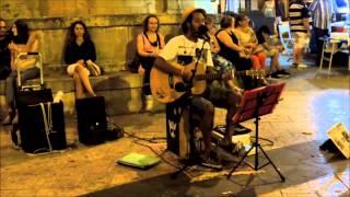 I WANT YOU - Edwin One Man Band  - Busking SummerTour 2014 - Matera