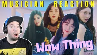 "MUSICIAN REACTS to ""WOW THING"" [STATION X 0] SEULGI X SinB X CHUNG HA X SOYEON"