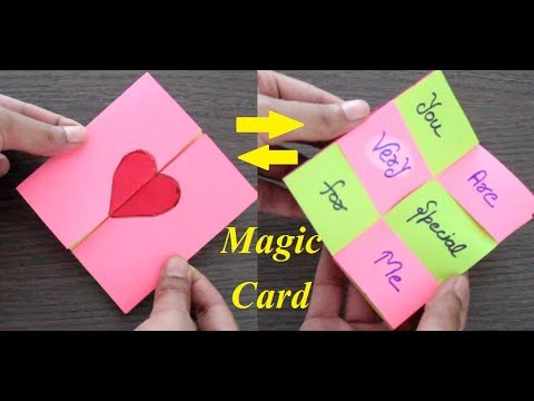 DIY - MAGIC CARD | SECRET MESSAGE CARD | EASY BEST CARD FOR GIFT