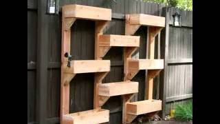 Vertical Garden Boxes Ideas