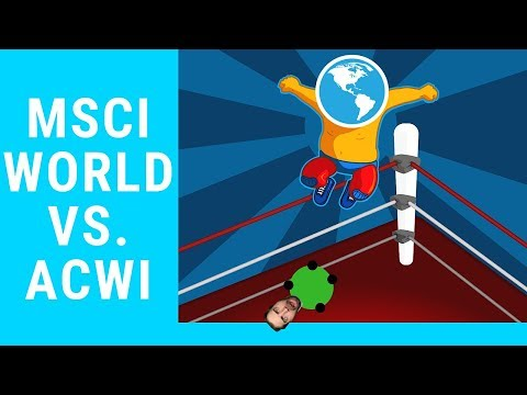 MSCI WORLD vs. MSCI ACWI - Der Vergleich 2018
