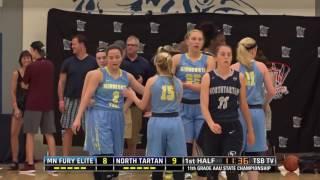 2016 MN AAU State Championship - 11th grade: MN Fury Elite vs. North Tartan EYBL