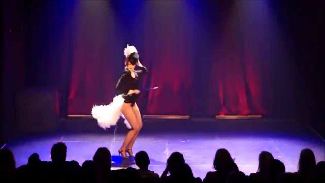 """Jacqueline Furey performs """"Jacqueline Rabbit"""" Burlesque solo act"""