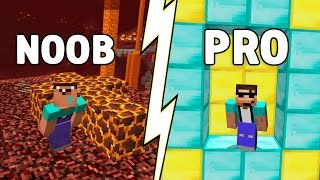 How to go from NOOB to PRO in just 9 SECONDS! (Minecraft Parkour)