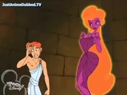 Aphrodite do desenho Hercules da Disney