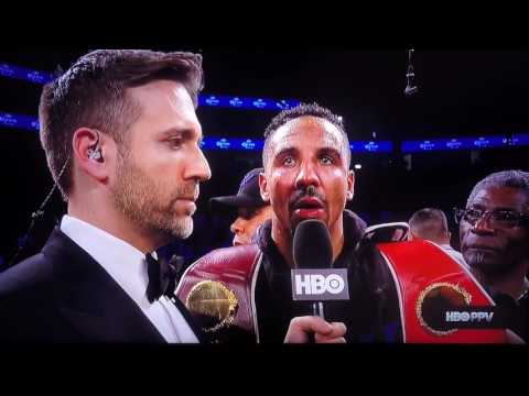 Sergey Kovalev vs Andre Ward Post Fight Interviews HD